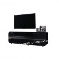 Тумба под телевизор  Модерн-4 (глянцевая с закругленными углами)