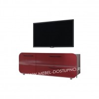 Тумба под телевизор  Модерн-5 (глянцевая с закругленными углами)