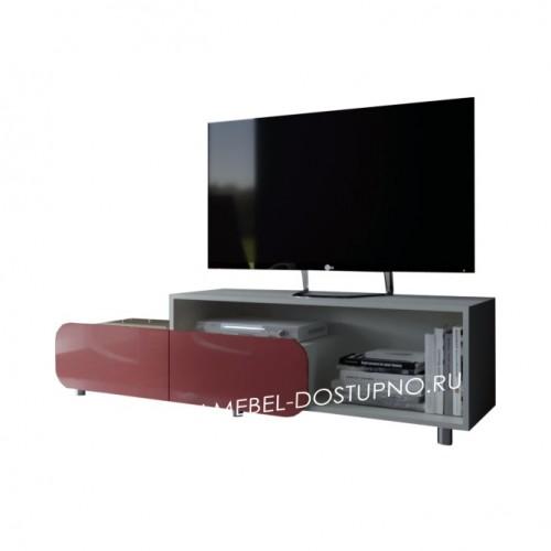 Тумба под телевизор  Модерн-6 (глянцевая с закругленными углами)