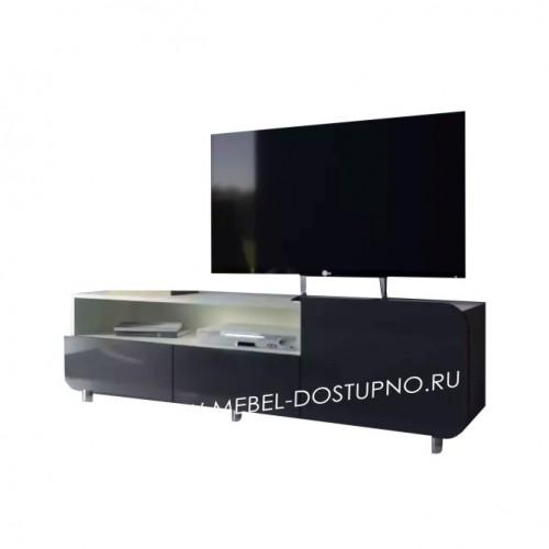 Тумба под телевизор  Модерн-8 (глянцевая с закругленными углами)