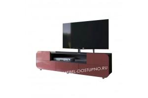 Тумба под телевизор  Модерн-9 (глянцевая с закругленными углами)